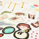 Personalised Little People, Big Dreams Sticker Activity Book