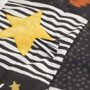 Personalised Panda and Bear Patchwork Activity Playmat Detail