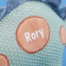 Personalised Knitted Dinosaur Soft Toy