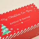 Personalized Red Christmas Eve Box Personalization