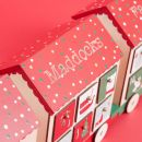 Personalised Wooden Advent Calendar Train