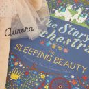 Personalised Sleeping Beauty Musical Story Book and Ballerina Gift Set Personalisation