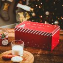 Personalised Red Christmas Eve Box Styled